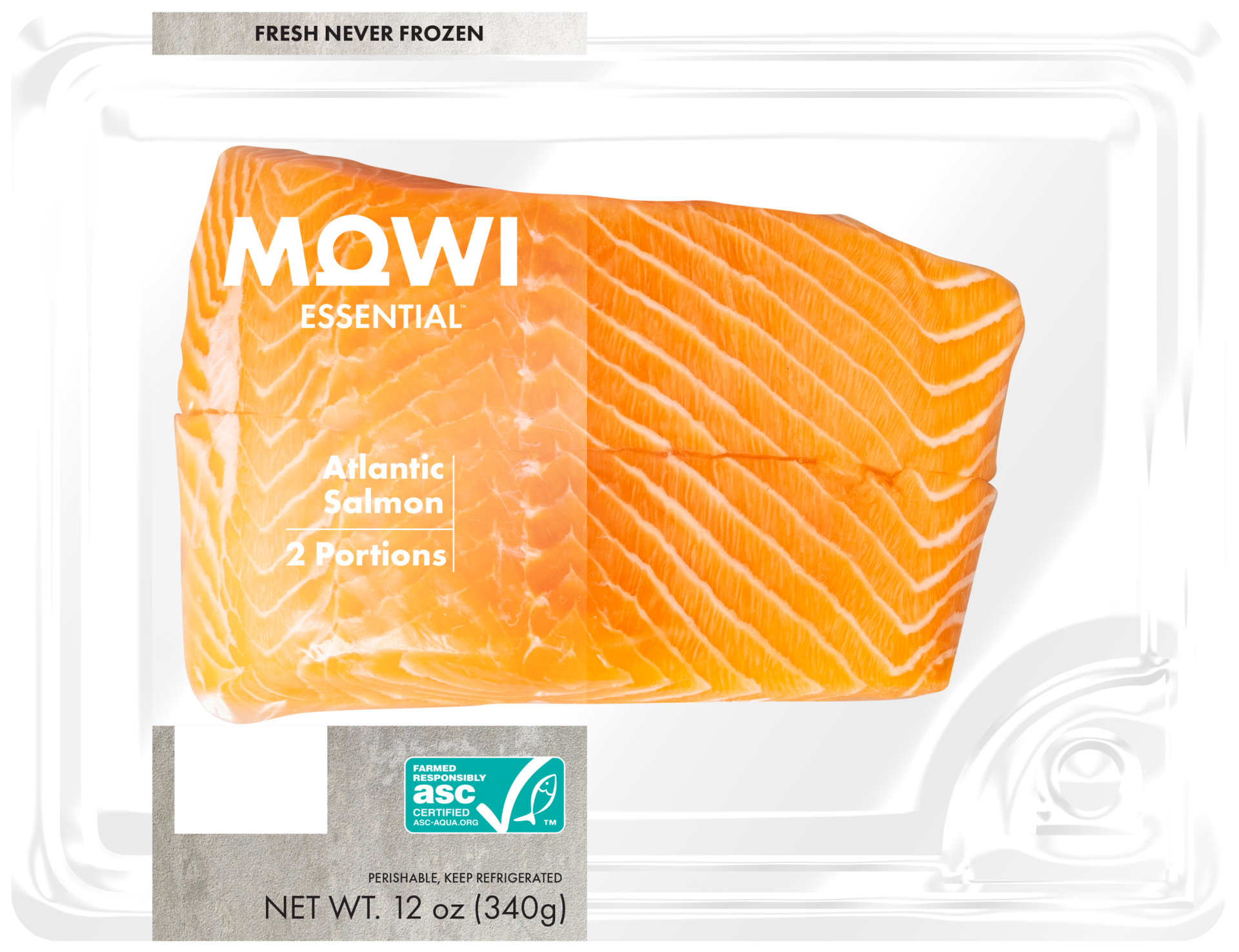 MOWI Essential Skin-On Portions (2 pack)